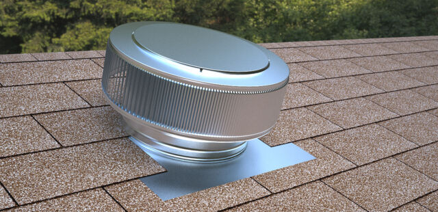 Active Ventilation 12 In Aluminum Roof Vent No Moving Parts Wind Turbine For Sale Online Ebay