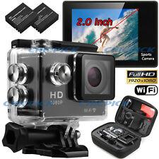 WIFI Waterproof  Sports Camera SJ4000 Travel Kit Action DV 1080P Full HD Cam Set