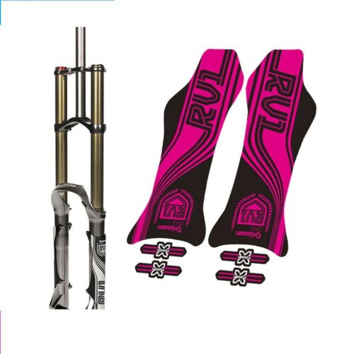 X-fusion RV1 MTB Front Fork Stickers Cycling Decals for 27.5 Inch Mountain Bike
