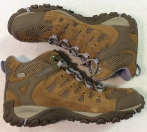 e3782ee56de Details about Merrell Women's Accentor Mid WTPF Stone/Orchid Hiking Boot  J321085C SZ 10 M