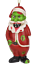 Tree-Buddees-Zombie-Santa-Claus-Christmas-Glass-Ornament-Funny-Xmas-Decoration thumbnail 7