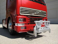 Aluminum animal Bumper Guard for Tamiya 1/14 Scania Volvo FH12 Globetrotter 420