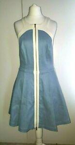 Robert-Rodriguez-simple-stunning-dress-size-8-linen-blend