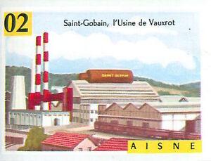 IMAGE-CARD-60s-DEPARTEMENTS-FRANCE-02-AISNE-LAON-Saint-Gobain-Usine-de-Vauxrot