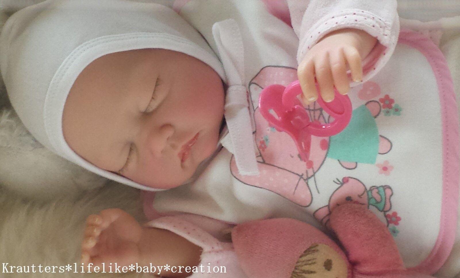 ♥ Reborn reallife Lifelike Baby Bs V. U.L krautter Baby muñeca, artistas muñeca ♥
