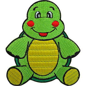 Turtle-Patch-Embroidered-Tortoise-Iron-On-Badge-Sew-On-Embroidery-Applique