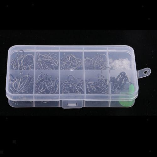 1 Schachtel Karpfen Fishing Tackle Kit Aus Kohlenstoffstahl Angelhaken Folat