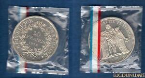 Piefort-1972-10-Francs-Hercule-1972-FDC-ARGENT-RARE-500-exemplaires-FDC-PIEFORT