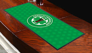 ST PATRICKS DAY 2 BAR RUNNER IDEAL FOR HOME COCKTAIL PARTY BAR MAT OCCASION