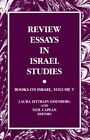 Review Essays in Israel Studies: Books on Israel by State University of New York Press (Paperback, 2000)