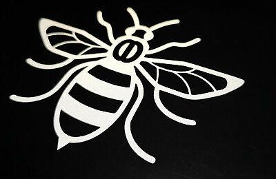 Manchester Bee reflective Black CAR Van Shop Window Sticker
