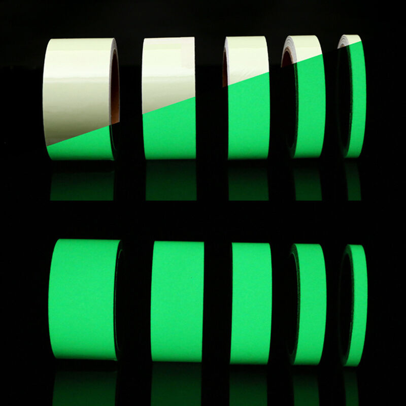 10m Luminous Tape Self Adhesive Glow In The Dark Safety