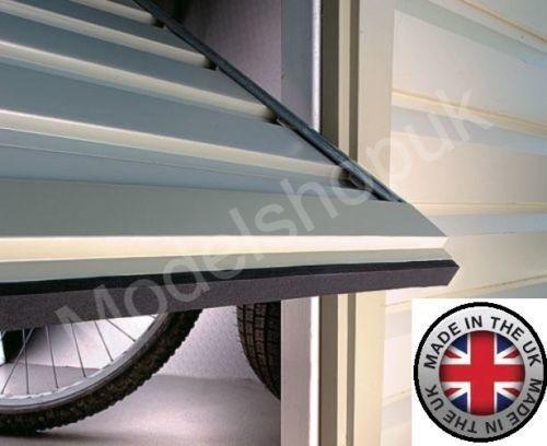 Garage Door Dirt Strip Self Adhesive Draught Excluder Leaf Stopper