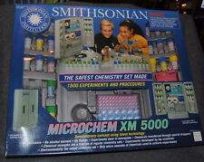Smithsonian Microchem XM 5000 Chemistry Set - 1992 - Complete w/Manual