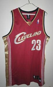 Details about LeBron James Jersey Cleveland Cavaliers #23 Stitched Authentic Adidas 44 Large L