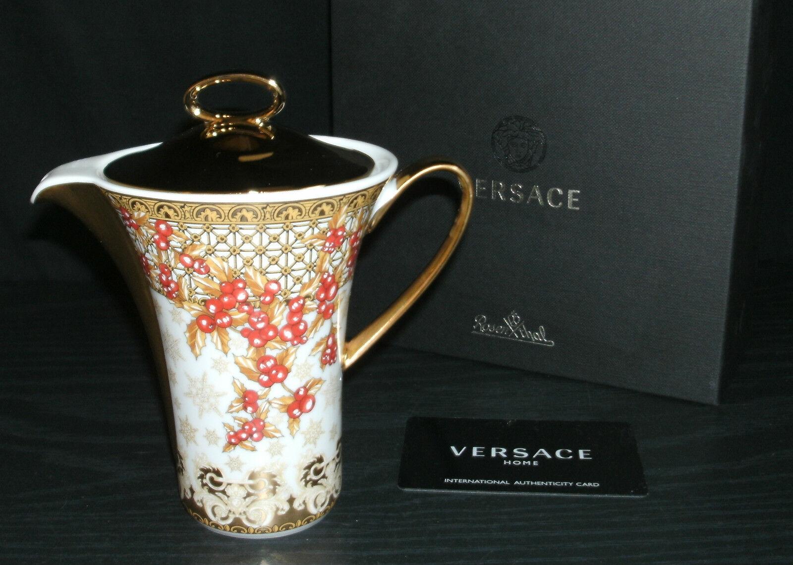 Versace Versace Versace  Christmas in Your Heart 2010 Milchkännchen 6 Per. Neu & Ovp 1.Wahl fe1f55
