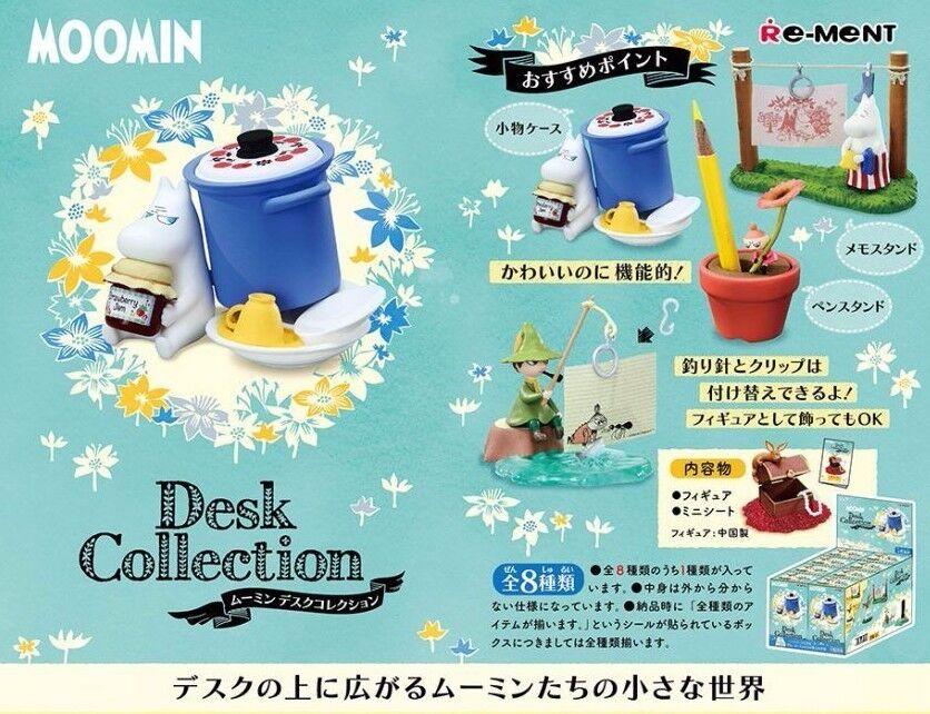 100% garantía genuina de contador Re-ment Moomin Moomin Moomin Escritorio Colección Miniatura Figura Japón Caja Completa  promocionales de incentivo