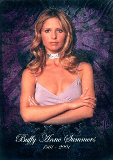 Buffy the Vampire Slayer Season 5 Slayers Gift Card SG1
