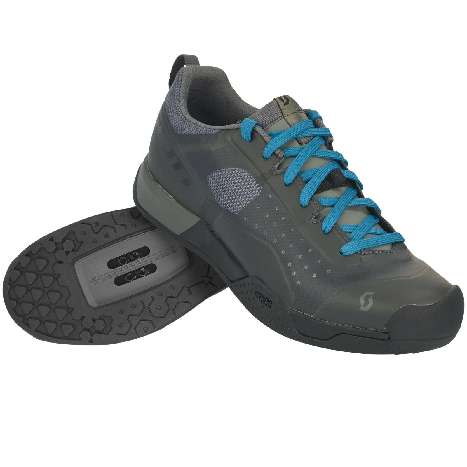 zapatos zapatos SCOTT MTB AR Spitze Spitze Spitze CLIP Color negro-gris 96b263