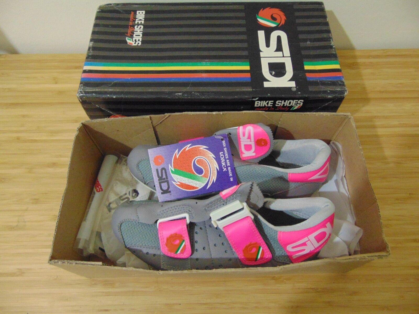 Vintage Sidi Cycling Schuhes Schuhes Cycling Größe 37 Eroica 1ad744