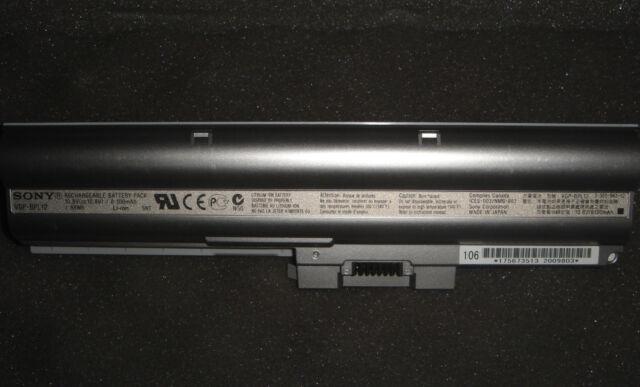 Original Battery Sony Vaio VGP-BPL12 VGP-BPS12 Vgn-Z Z15 Z17 Z19 Z25 Z27 Z29N