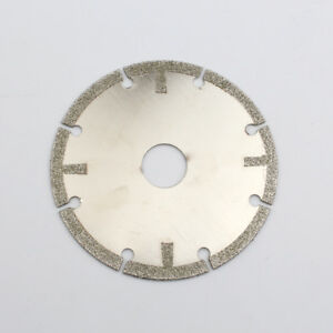 """4/"""" Diamond Cutting Disc Coated Grinding Wheel Cutter for Stone Jade 5//8/"""" Hole"""