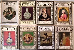 8pc Lot 1926 1928 International Studio Art Magazine Fine Applied Art Illus Ebay