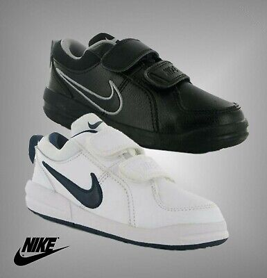 Boys Nike Padded Hook And Loop Court Borough Trainers Sizes from C10 to 2