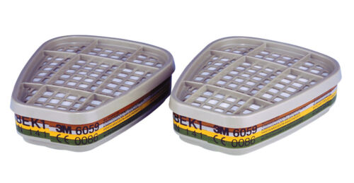 6000 SERIES 3M 6059 ABEK1 Organic Vapour Filters