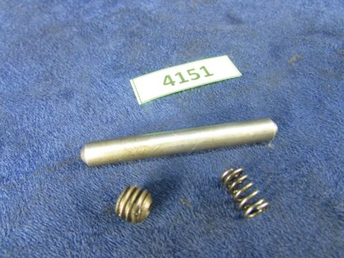 #4151 South Bend 9A//B Precision Lathe Apron Half-Nut Plunger,Pin Spring Set.