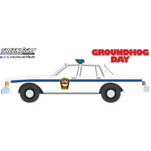 Greenlight 44860C Chevrolet Caprice Police 1980 Groundhog Day 1993 1/64