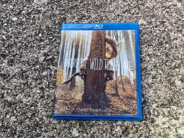 Where the Wild Things Are (Blu-ray Disc, 2010)Disc And ...