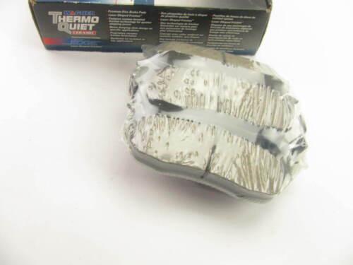 Thermo Quiet Ceramic Wagner QC1041 Rear Disc Brake Pad Set
