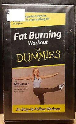 fat burning workout for dummies vhs  ebay