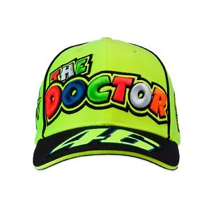7666ac89fa9 Vr46 Official The Doctor Paddock Cap Fluo Yellow - 262728 - Vr46 ...