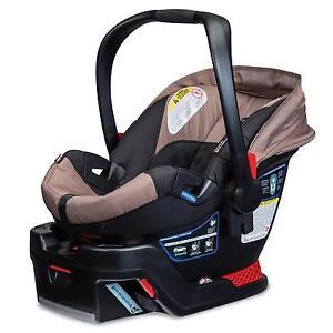 britax b safe 35 infant baby car seat w base sandstone new 2015 652182717872 ebay. Black Bedroom Furniture Sets. Home Design Ideas