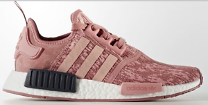 Adidas Women Original NMD R1 Raw Pink Trace Pink Legend Ink BY9648 AUTHENTIC