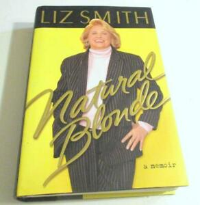 Natural Blonde: A Memoir by Liz Smith-FIRST EDITION- Hardcover) DJ