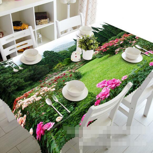 3D Garden 64 Tablecloth Table Cover Cloth Birthday Party Event AJ WALLPAPER AU