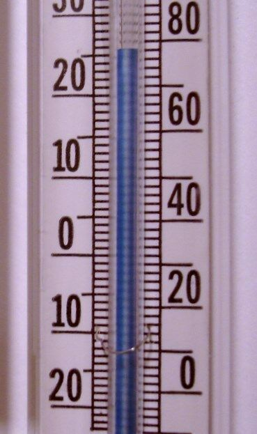 LD Carlson 5455 Thermometer-Float Glass