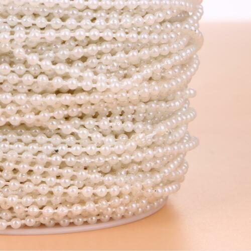 10M//33FT Pearls Chain Pear Bead Garland Chandelier Wedding Favours Hanging Decor