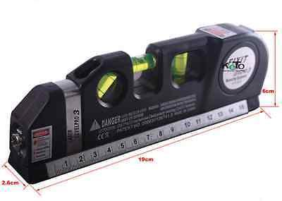 2016 Laser Level Meter Horizontal Vertical MeasuringInstrument Detector Tool CAD