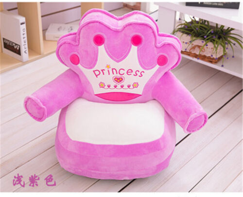 Comfy Soft Plush Chair Children Toddlers Armchair Seat Nursery Baby Sofa