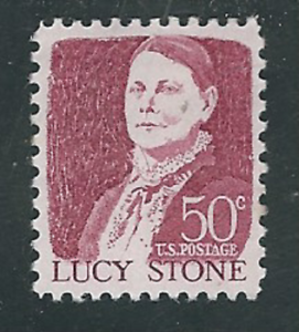 Scott #1293...50 Cent...Lucy Stone...5 Stamps
