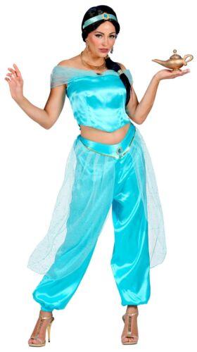 K Arabische Prinzessin Damen Mädchen Kostüm 1001 Nacht Karneval Fasching