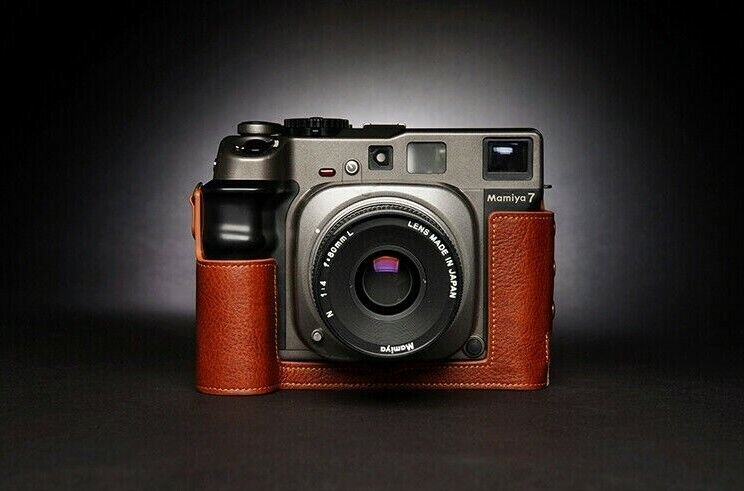 Leather Half Case for Mamiya 7ii 7 6 6MF - Choice of Colours