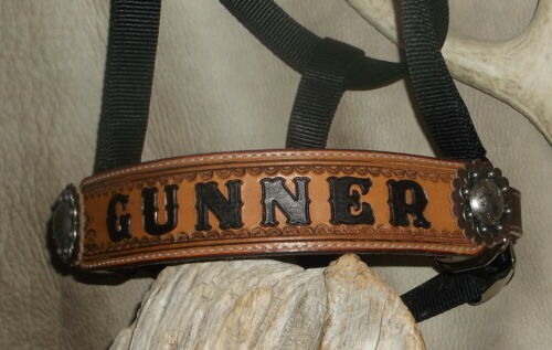 Custom Personalized Horse Halter Your Horses Name Brand Award G/&E Ranch..