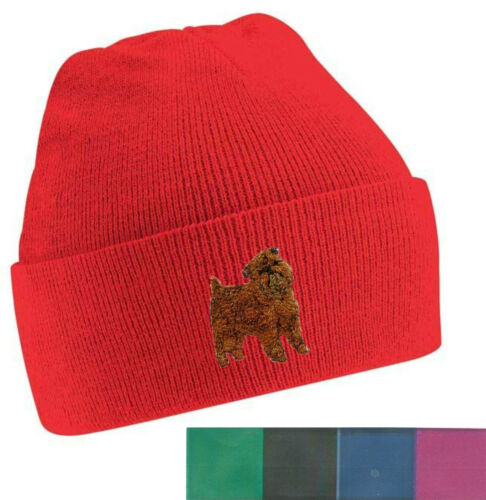 Griffon Bruxellois Beanie Hat Perfect Gift Embroidered by Dogmania