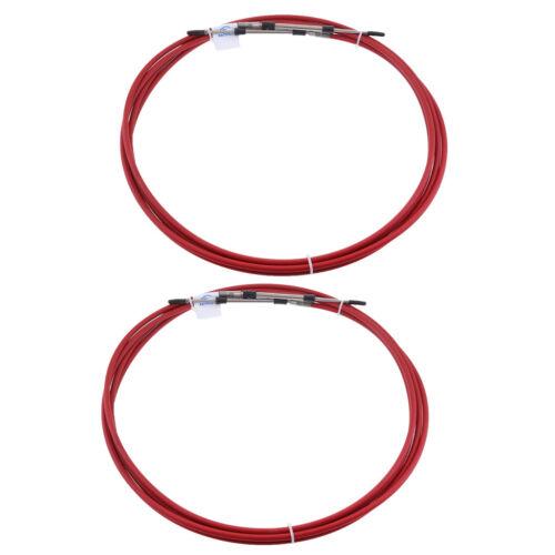 2 stücke 13 /'Red Motor Gaszug Schaltkabel Montage 080 Serie Typ