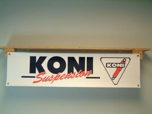 Koni Suspension Banner shock absorber retro advertising Workshop Garage sign